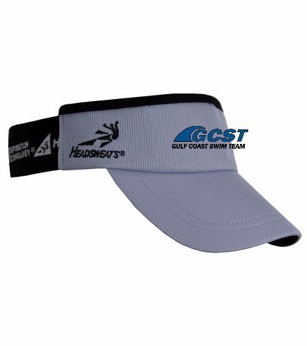 GC Visor - Grey - Headsweats SuperVisor