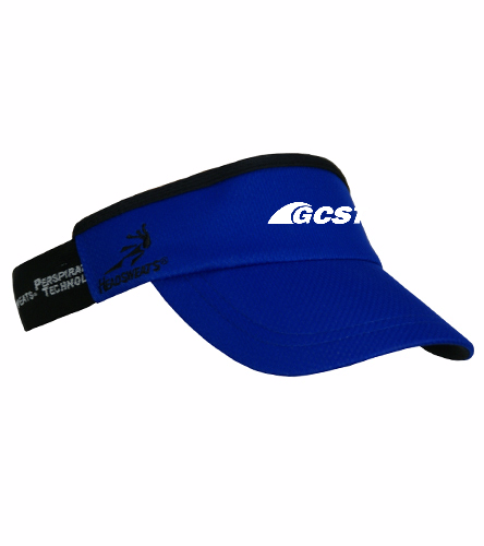 GC Visor - Royal - Headsweats SuperVisor