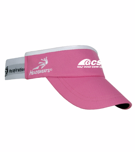 GC Visor - Pink - Headsweats SuperVisor