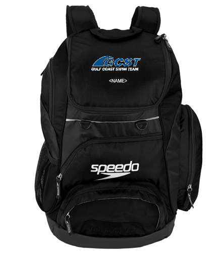 GC 35L - Black - Speedo Large 35L Teamster Backpack
