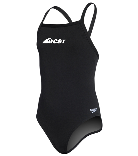 Gulf Coast Swim Team - Youth Solid Endurance + Flyback Training Swimsuit