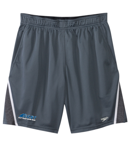 GC Mens Shorts - Grey - Speedo Men's Splice Team Short