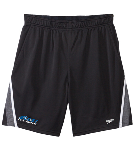 GC Mens Shorts - Black - Speedo Men's Splice Team Short