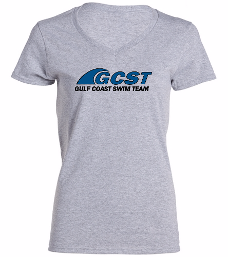 GC V-Neck - Grey -  Ladies V-Neck