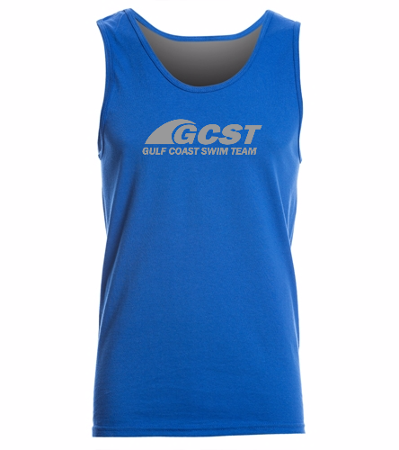 GC Tank - Blue -  Ultra Cotton Adult Tank Top