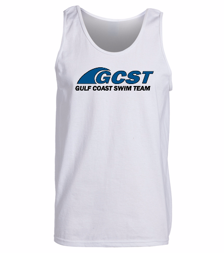GC Tank - White -  Ultra Cotton Adult Tank Top