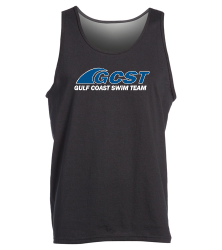 GC Tank - Black -  Ultra Cotton Adult Tank Top