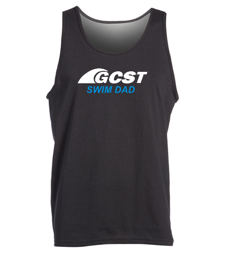 GC Swim Dad Tank - Black -  Ultra Cotton Adult Tank Top