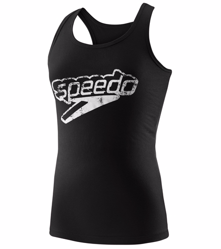 GC SPEEDO Tank - Speedo Female Front Stacked Logo Tank Top