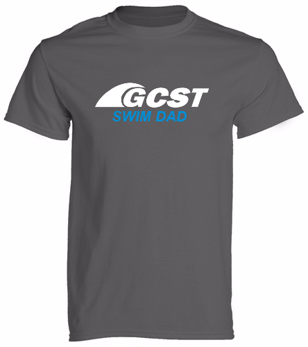 GC Swim Dad - Grey -  Unisex 100% Cotton 30's RS S/S