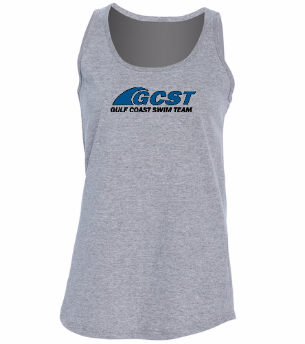 GC Womens Tank - Grey -  Ladies 5.4-oz 100% Cotton Tank Top
