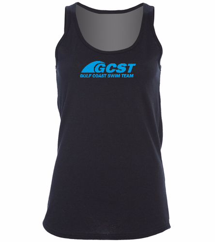 GC Womans Tank - Black -  Ladies 5.4-oz 100% Cotton Tank Top