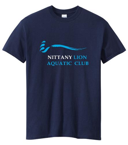NLAC Adult T-shirt - SwimOutlet Unisex Cotton Crew Neck T-Shirt