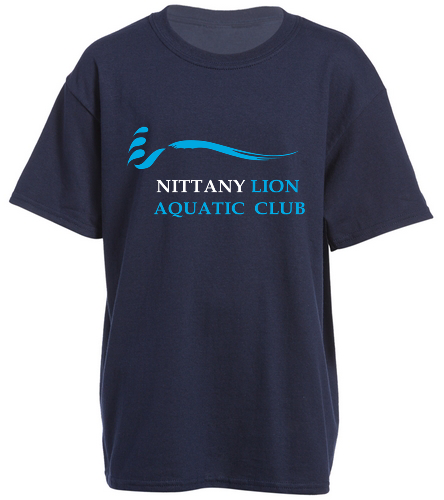 NLAC Youth T-shirt - SwimOutlet Youth Cotton Crew Neck T-Shirt
