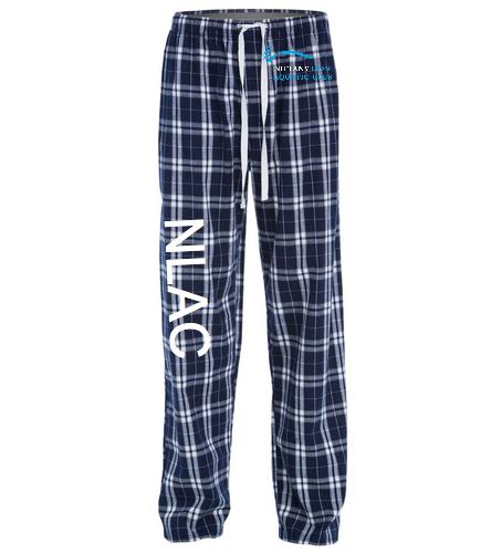NLAC Flannel Pant - SwimOutlet Unisex Flannel Plaid Pant