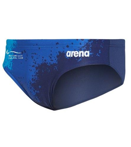 NLAC_ - Arena Men's Spraypaint MaxLife Brief Swimsuit