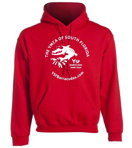 YSF Barracudas Adult Hooded Sweatshirt -  Heavy Blend Adult Hooded Sweatshirt