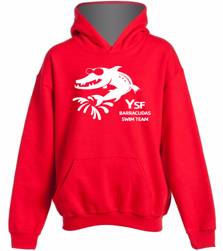 YSF Barracudas -  Heavy Blend Youth Hooded Sweatshirt