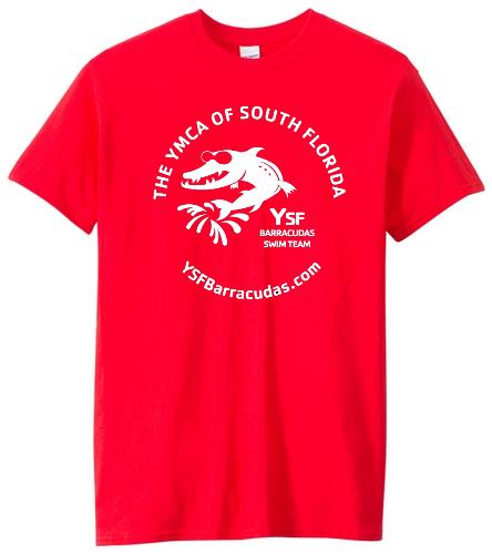 YSF Barracudas Cotton Adult T-Shirt - Heavy Cotton Adult T-Shirt