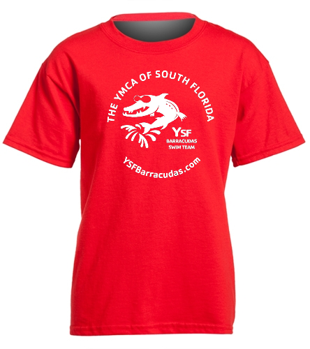 YSF Barracudas Cotton Youth T-Shirt - Heavy Cotton Youth T-Shirt