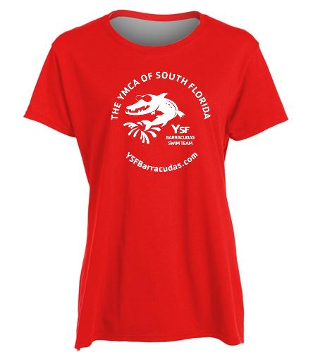 YSF Barracudas Heavy Cotton Missy Fit T-Shirt  -  Heavy Cotton Missy Fit T-Shirt