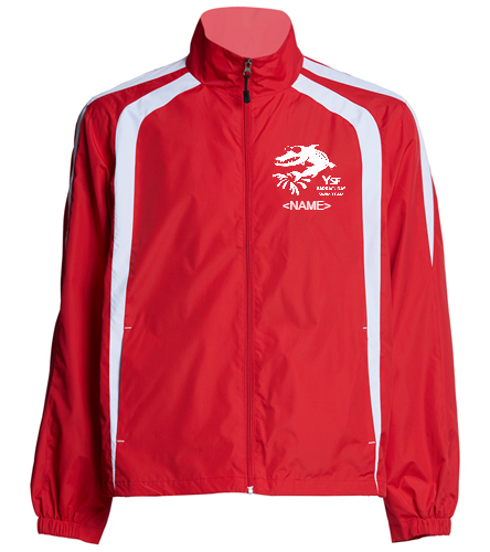 YSF Warm-up Jacket - SwimOutlet Unisex Warm Up Jacket