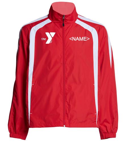 YSF Barracudas Unisex Warm Up Jacket - SwimOutlet Unisex Warm Up Jacket