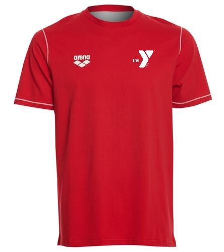 YSF Barracudas Arena Unisex Team Line Crew Neck Short Sleeve T Shirt - Arena Unisex Team Line Crew Neck Short Sleeve T Shirt