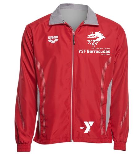 YSF Barracudas Arena Unisex Team Line Ripstop Warm Up Jacket - Arena Unisex Team Line Ripstop Warm Up Jacket