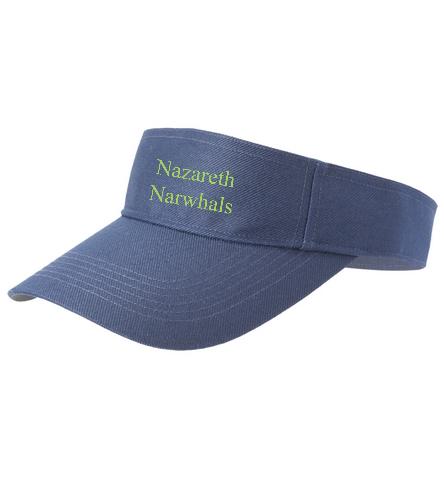 Narwhal - SwimOutlet Custom Cotton Twill Visor