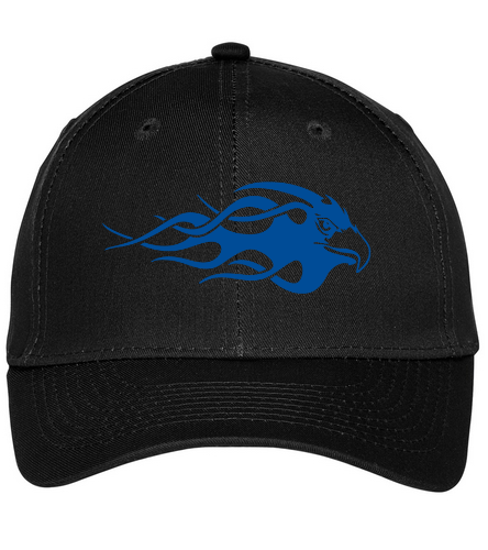 Blue Eagle Swim Team - Black  - SwimOutlet Unisex Performance Twill Cap
