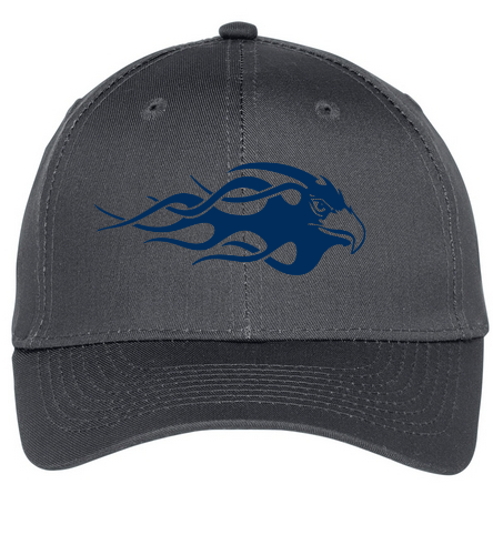 Blue Eagle Swim Team - Grey - SwimOutlet Unisex Performance Twill Cap