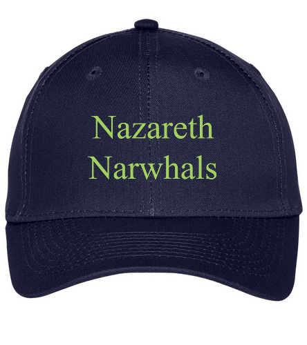 Narwhal - SwimOutlet Unisex Performance Twill Cap