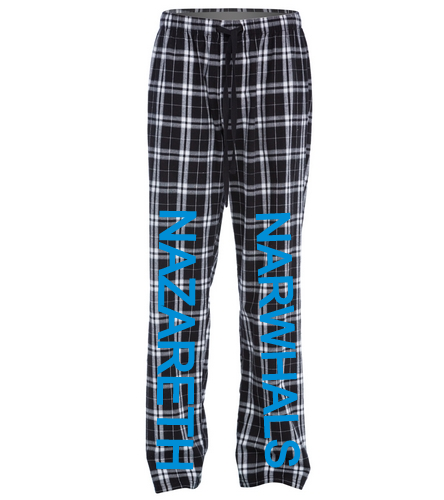 Narwhals - SwimOutlet Unisex Flannel Plaid Pant