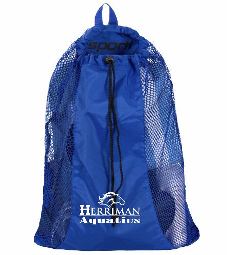 Herriman Team Bag - Sporti Premium Mesh Backpack