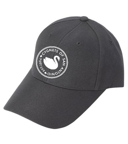 CSA logo - SwimOutlet Custom Cotton Twill Cap