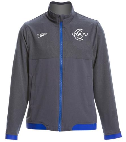 WWSC Youth Warm up jacket - Speedo Youth Tech Warm Up Jacket