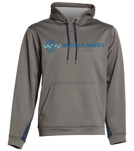 Dri Fit Sweatshirt - SwimOutlet Sport-Wick® Fleece Colorblock Hooded Pullover