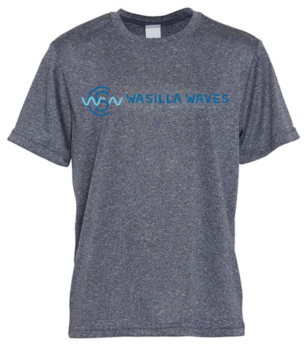 WWSC Grey Youth - SwimOutlet Youth Unisex PosiCharge®Competitor Tee