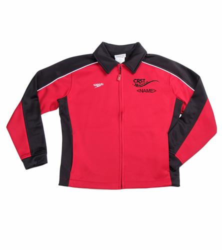 Youth CRST - Speedo Streamline Youth Warm Up Jacket