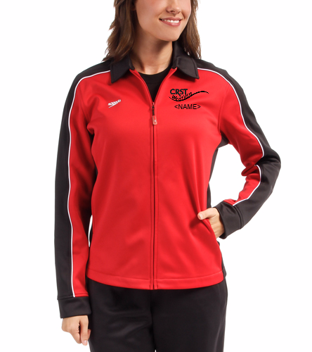 CRST - Speedo Streamline Female Warm Up Jacket