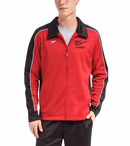 CRST - Speedo Streamline Male Warm Up Jacket