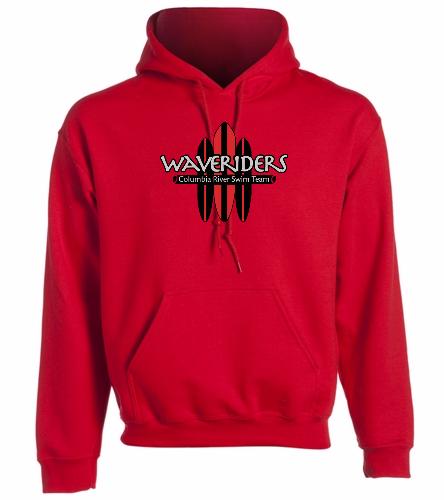 CRST Red - SwimOutlet Heavy Blend Unisex Adult Hooded Sweatshirt