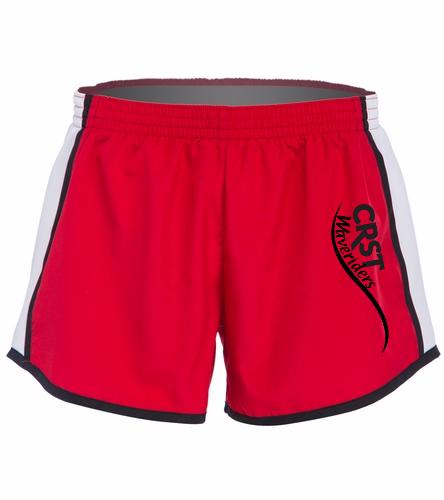 CRST Red - SwimOutlet Custom Unisex Team Pulse Short