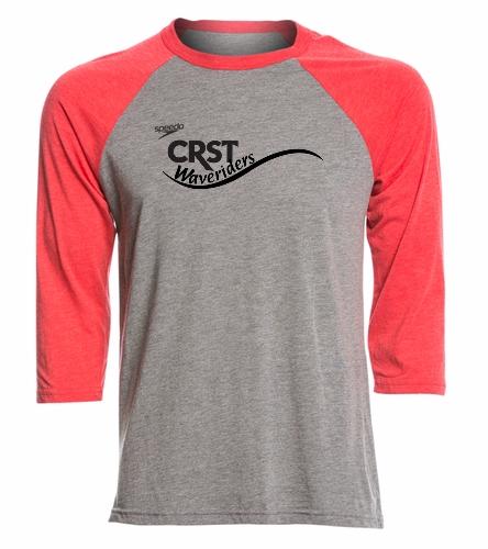 CRST - Speedo Unisex Baseball Tee Shirt