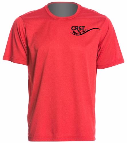 CRST Red - SwimOutlet Men's Tech Tee