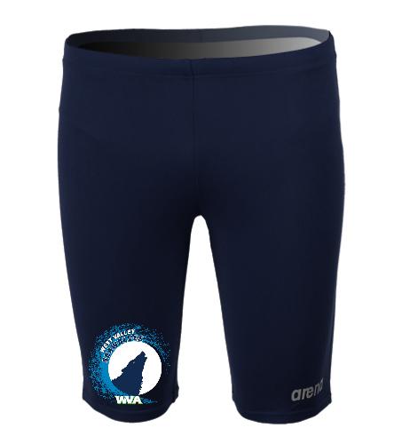WVA Mens Jammer-Team Suit - Arena Men's Board Jammer Swimsuit