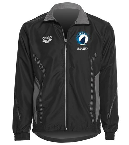 WVA M/W Warm up Jacket - Arena Unisex Team Line Ripstop Warm Up Jacket