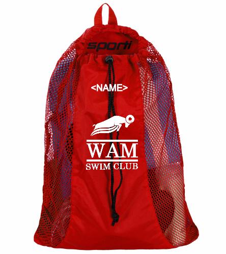 WAM Mesh Bag - Sporti Premium Mesh Backpack