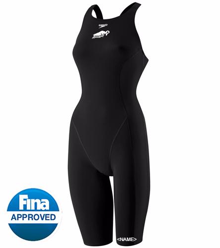 WAM Women's Tech Suit - Speedo Women's Powerplus Kneeskin Tech Suit Swimsuit